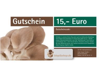 Geschenk-Gutschein über 15 Euro