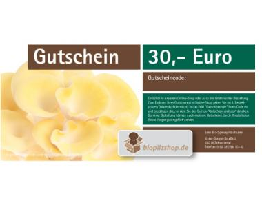 Geschenk-Gutschein über 30 Euro